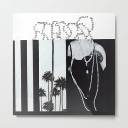 Pearls Metal Print