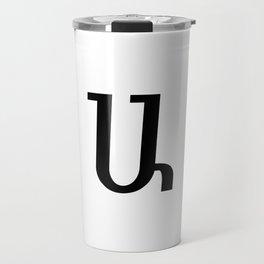 Armenian Letter A Travel Mug