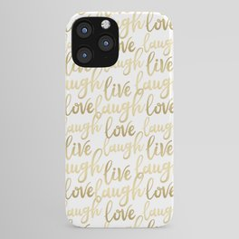 Live Laugh Love II iPhone Case