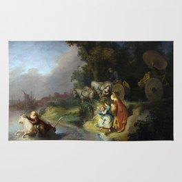 "Rembrandt Harmenszoon van Rijn, ""The Abduction of Europa"", 1632 Rug"