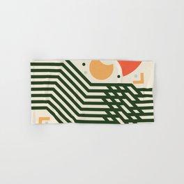 Abstract Print Colored Hand & Bath Towel