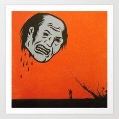 revenge ghost Art Print