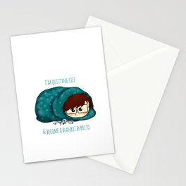 blanket burrito /Agat/ Stationery Cards