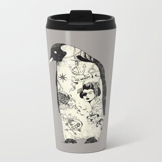 THE PENGUIN Metal Travel Mug