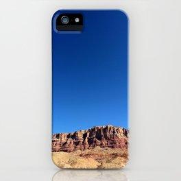 Into the Blue - Vermillion Cliffs iPhone Case