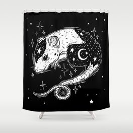 the Witch's Companion Shower Curtain