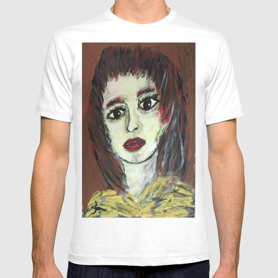 THE WORRIED GIRL T-shirt