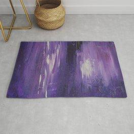 Purple Reflections Rug