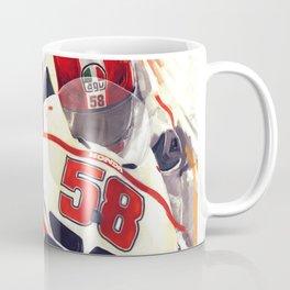 Marco Simoncelli Coffee Mug