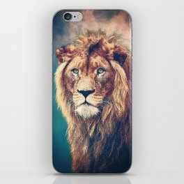 Young Lion iPhone Skin