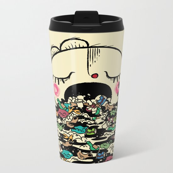 Save the fishes Metal Travel Mug