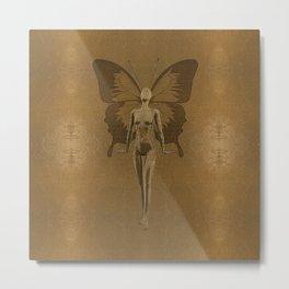 Golden Fairy Metal Print
