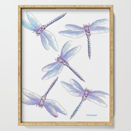 Dragonfly Dance Serving Tray