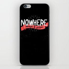 Nowhere iPhone Skin