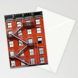 new york city ... fire escape Stationery Cards