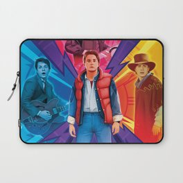 Back to the Future by Big Foot Studios Laptop Sleeve