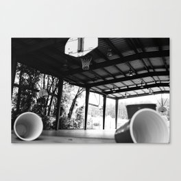 Tippy Cups Canvas Print