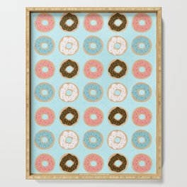 Sweet Sprinkled Donuts Serving Tray