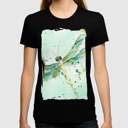 Dragon fly love T-shirt