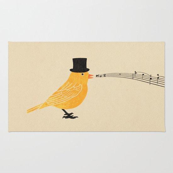 Classical Canary  Rug