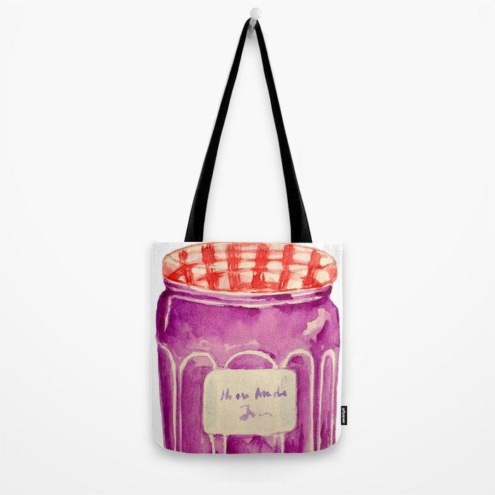 Blueberry Jam Tote Bag