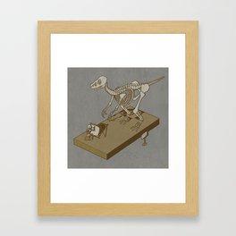Jurasic renaissance. Framed Art Print