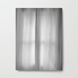 Curtains on a Rainy Afternoon Metal Print