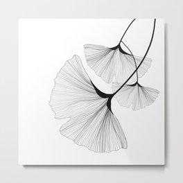 Leaf III Metal Print