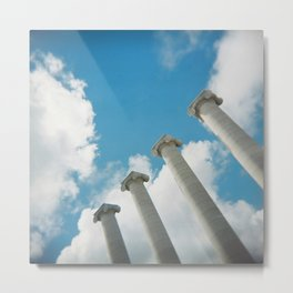 Hello new World Metal Print
