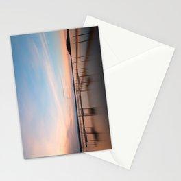 Saratoga Lake Sunset Stationery Cards