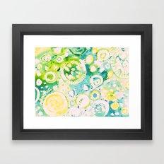 Circle Experiment Framed Art Print