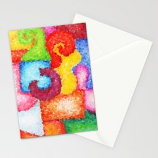 Shapes- Cubist Style Stationery Cards