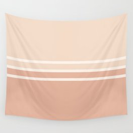 Lines Rose Wall Tapestry