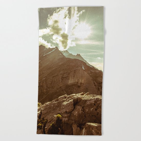 Step Outside Beach Towel