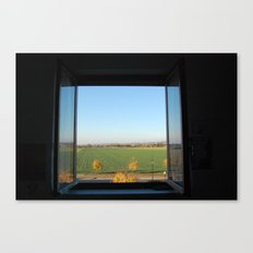 World out there Canvas Print