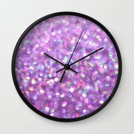 La La Lavender Wall Clock