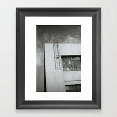 Ladder to Nowhere Framed Art Print