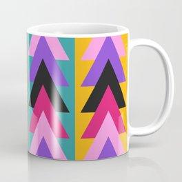 Multicolored arrows and bright stripes Coffee Mug