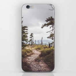 Over the mountains and through the woods iPhone Skin