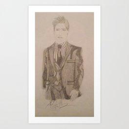 Chris Jericho. Art Print