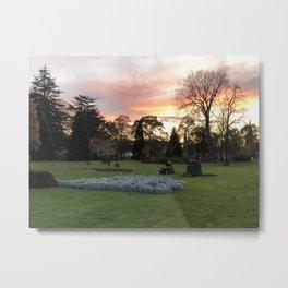 Forres Sunset Metal Print