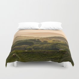 Sunny afternoon in Lake District Duvet Cover