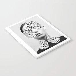 Woman Butterfly Notebook