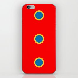 Dotted in Red iPhone Skin