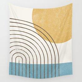 Sunny ocean Wall Tapestry