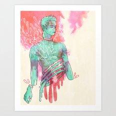 stiles (body horror) Art Print
