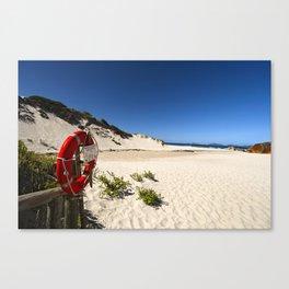 Red Lifesaving Ring Canvas Print