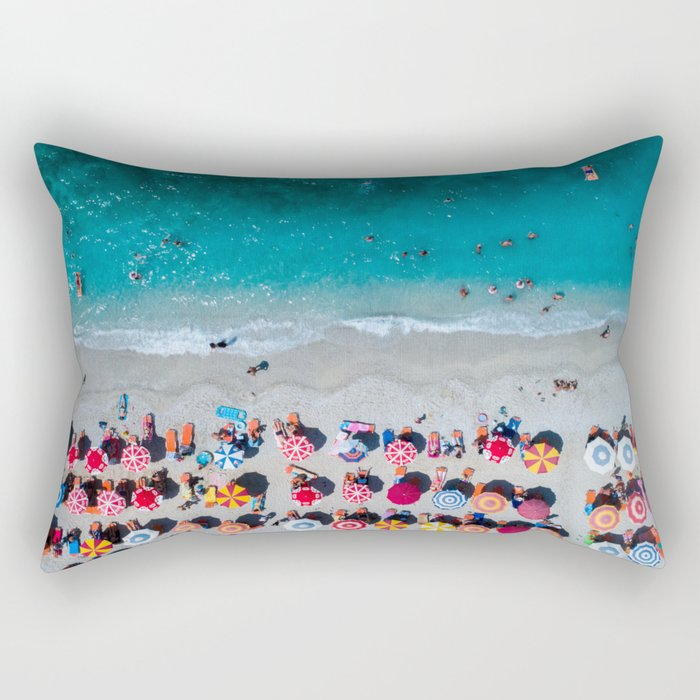 Albanian beach #society6 #buyart Rectangular Pillow