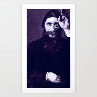 Rasputin 2 Art Print
