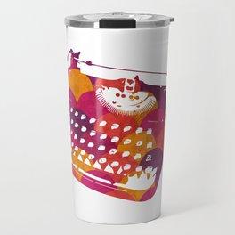 Typwriter Tiles Travel Mug